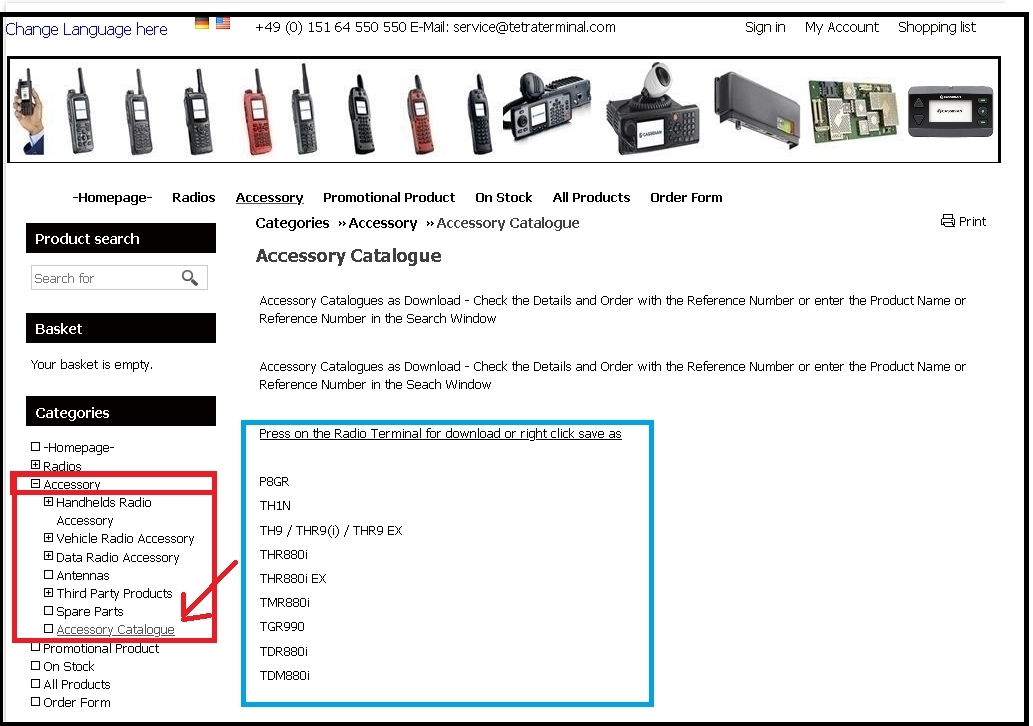 accessory_catalogue_-_part_numbers